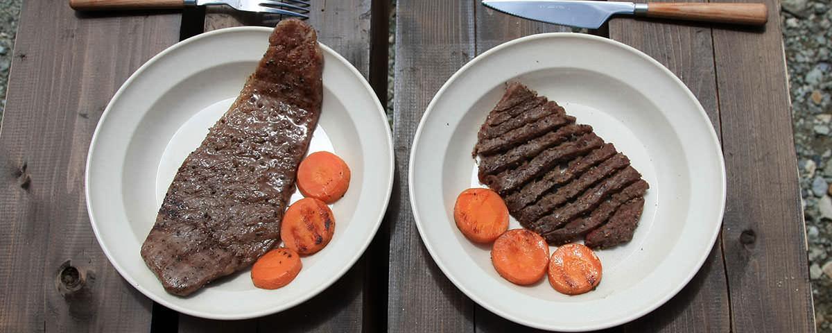白馬岳で肉を焼こう