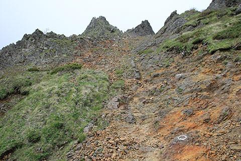 赤岳 キレットルート