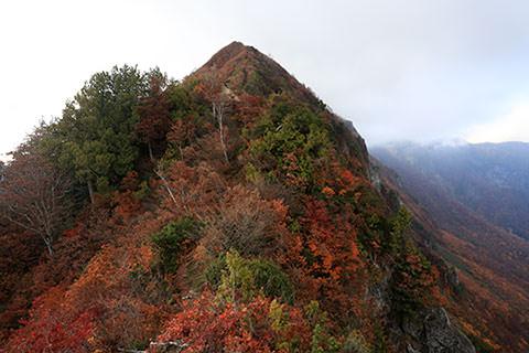 鳥甲山 和山ルート