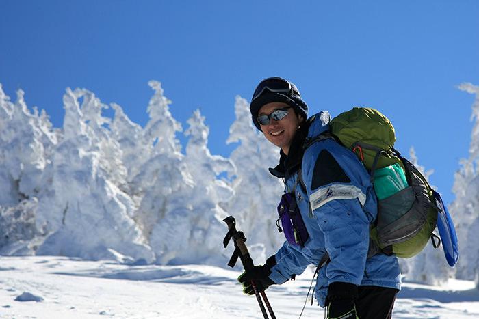 樹氷と田中さん