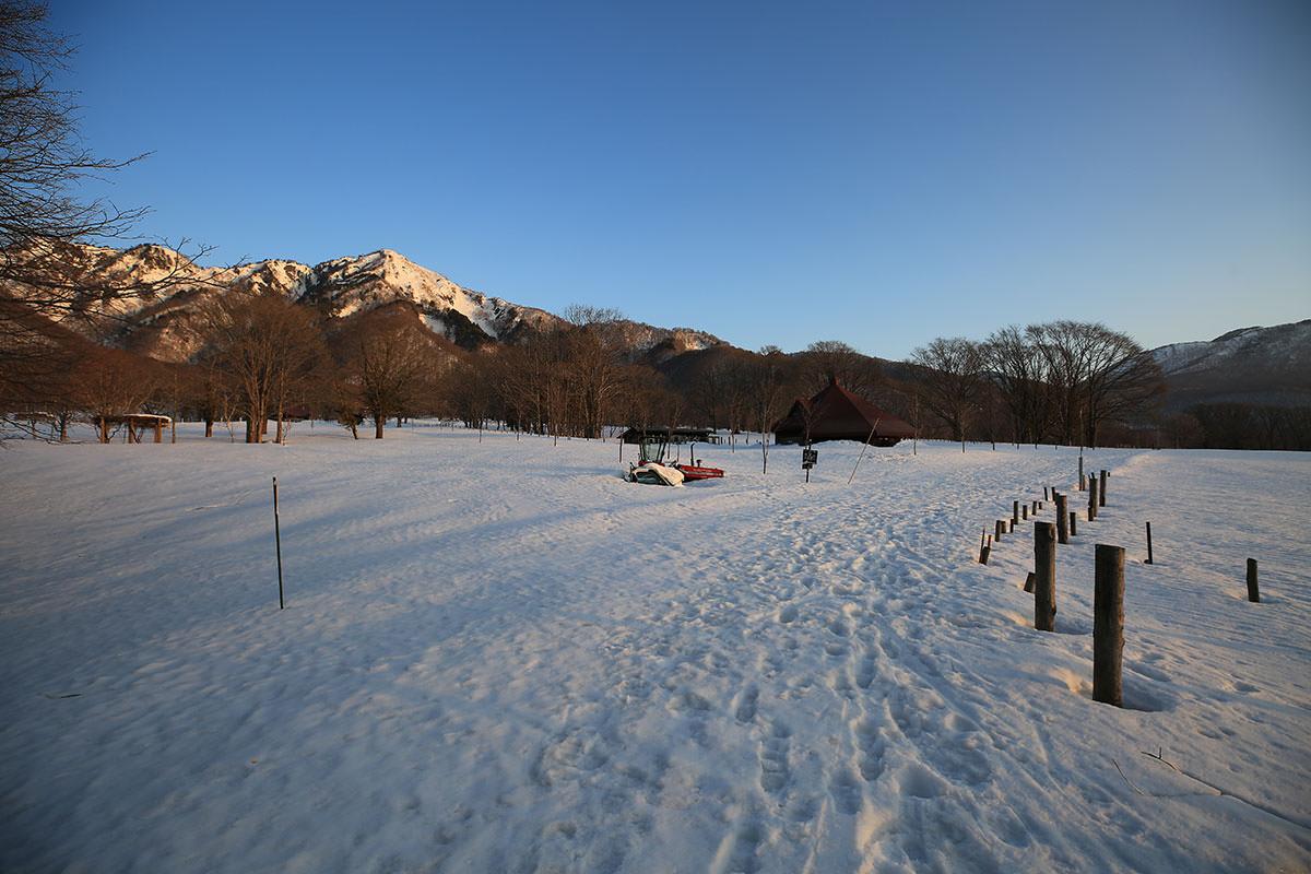 高妻山の冬季