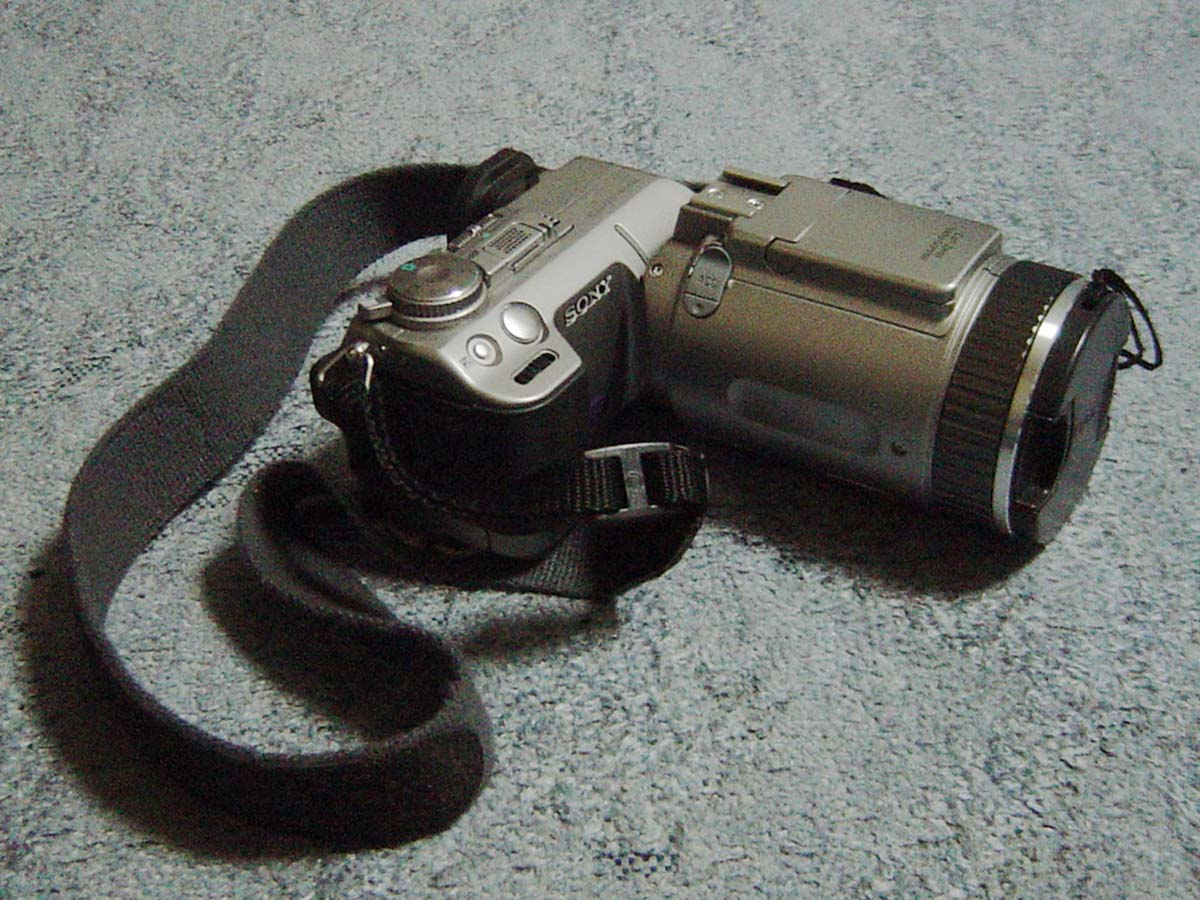 SONY CYBER SHOT DSC-F505K