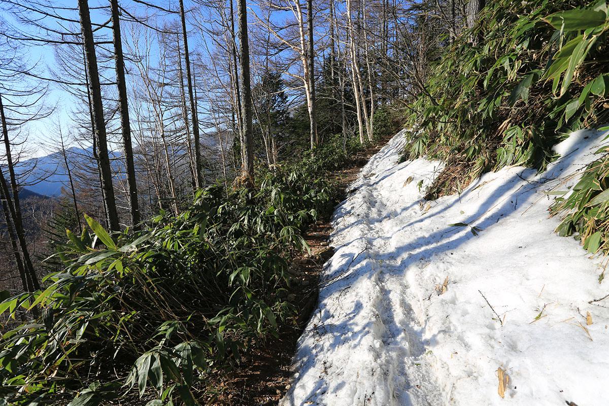 残雪の山特集