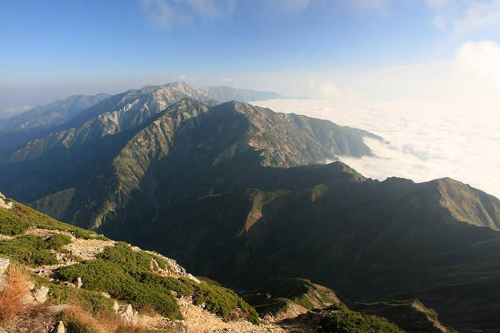 後立山の登山特集