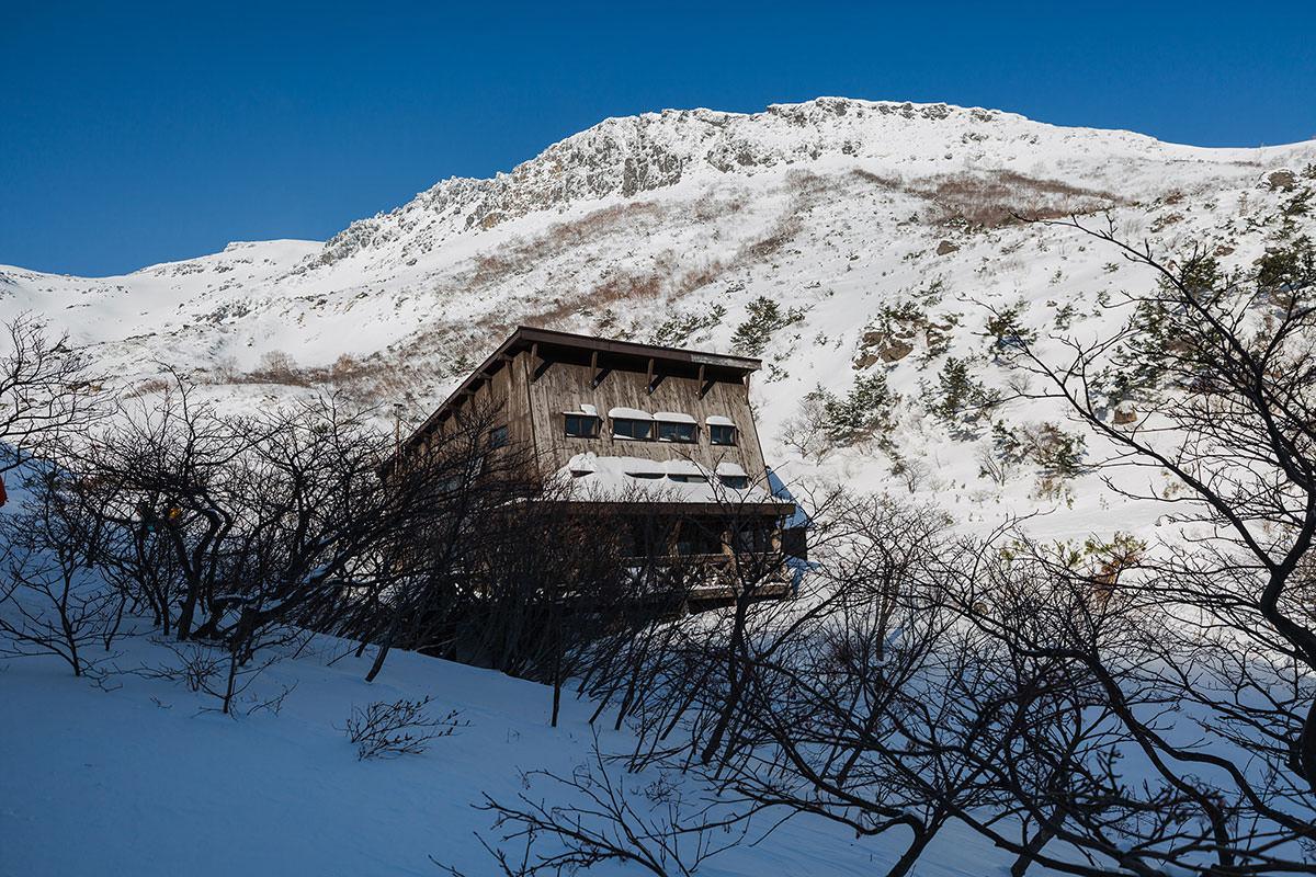 【安達太良山】登山百景-くろがね小屋に着いた