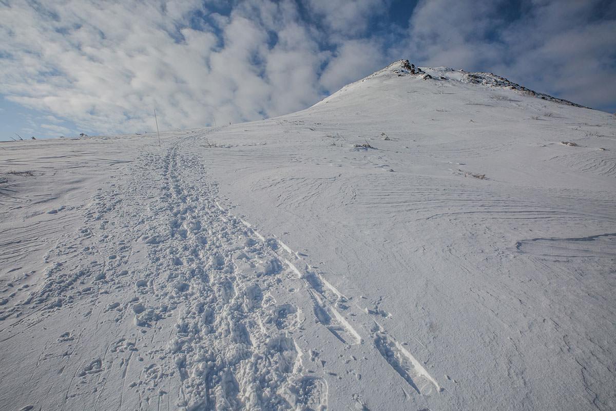 【安達太良山】登山百景-あの先に山頂が見える