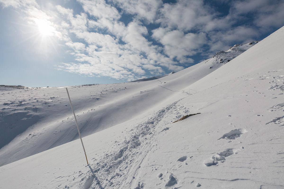 【安達太良山】登山百景-遠近感を無くすような景色