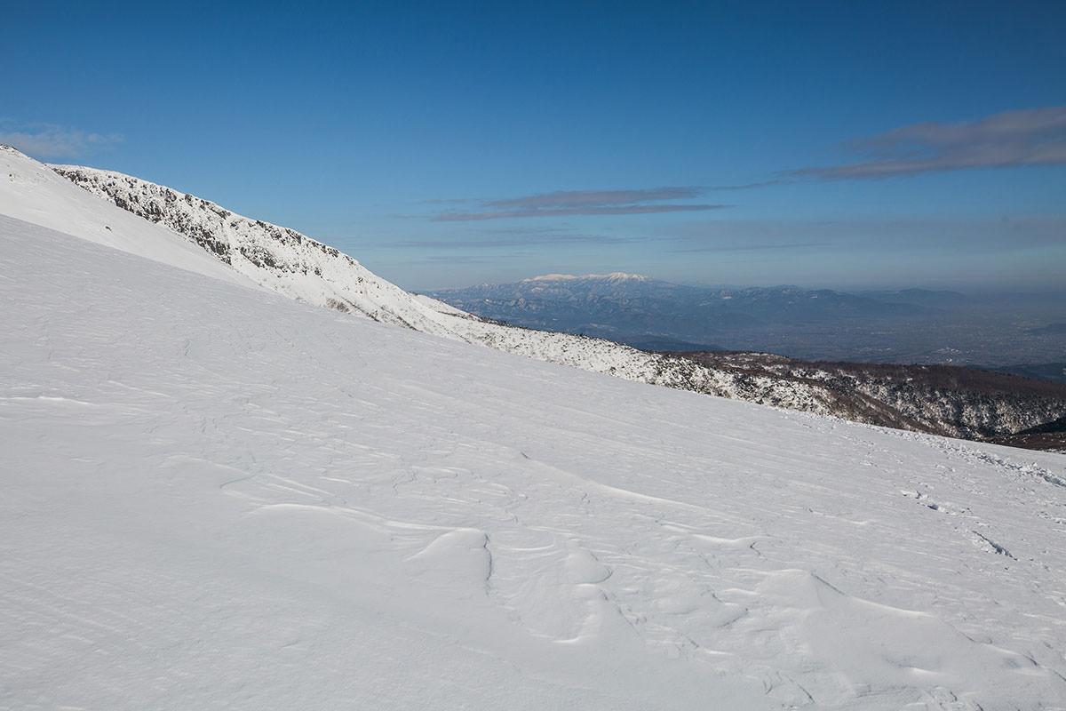 【安達太良山】登山百景-振り返ると蔵王山が見える