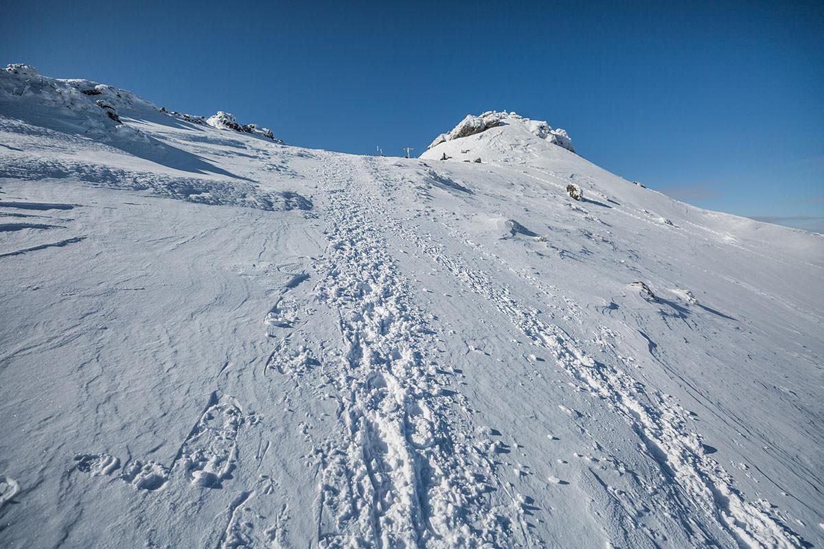 【安達太良山】登山百景-山頂が近くなった