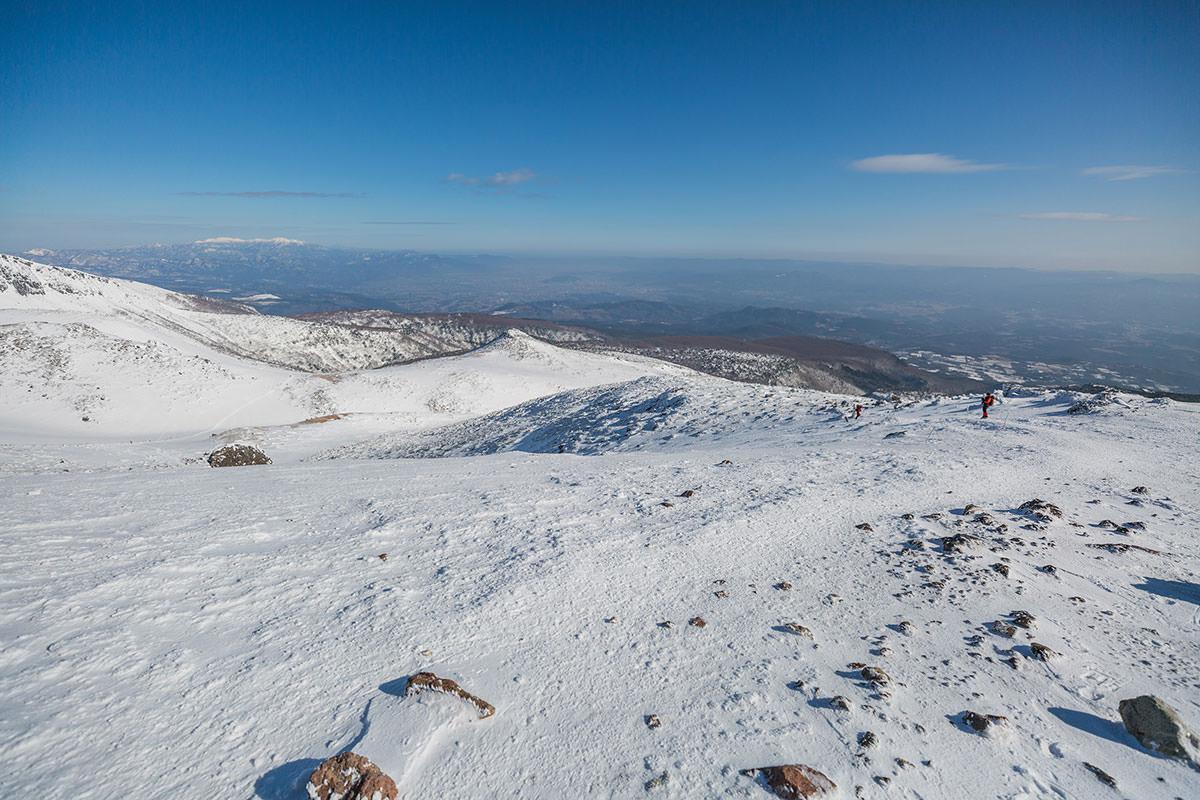 【安達太良山】登山百景-振り返ると眺めが良い