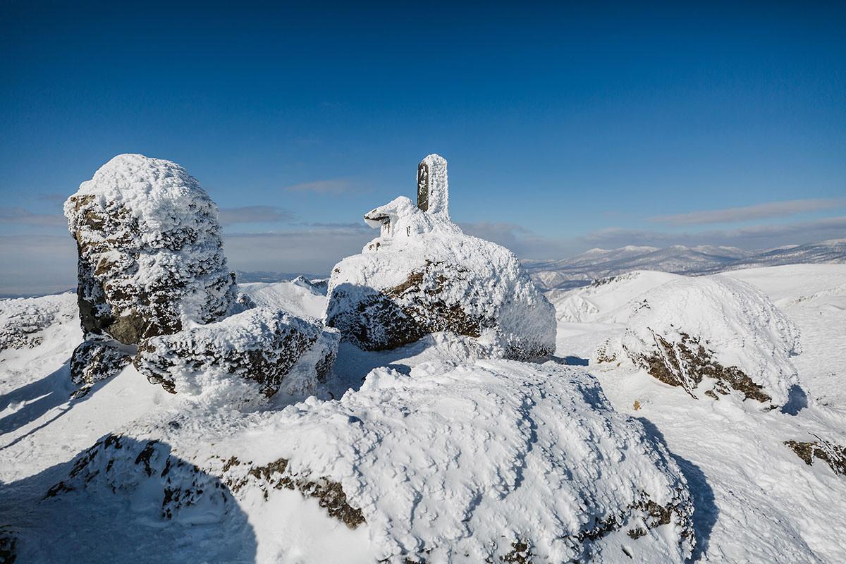【安達太良山】登山百景-安達太良山山頂に到着