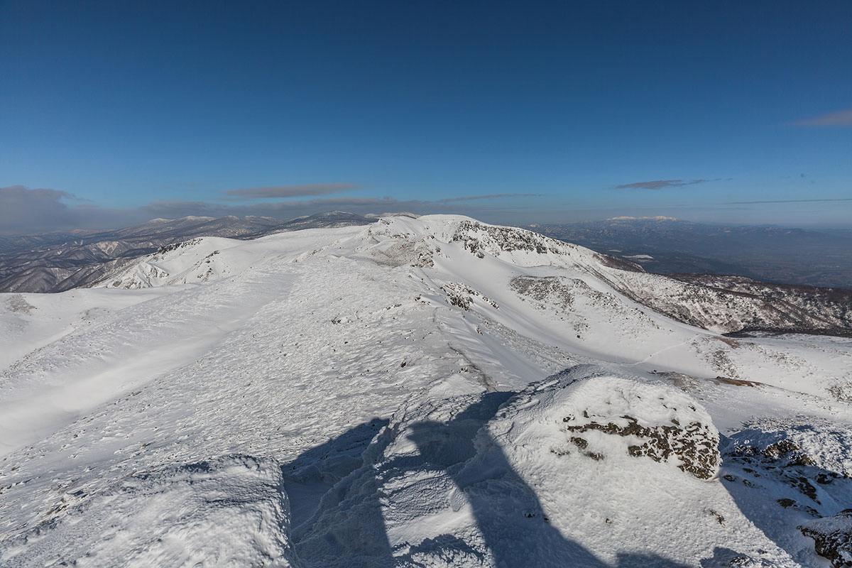 【安達太良山】登山百景-北側の景色