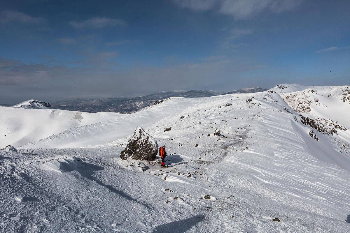 【安達太良山】登山百景-なだらかで広い下り坂