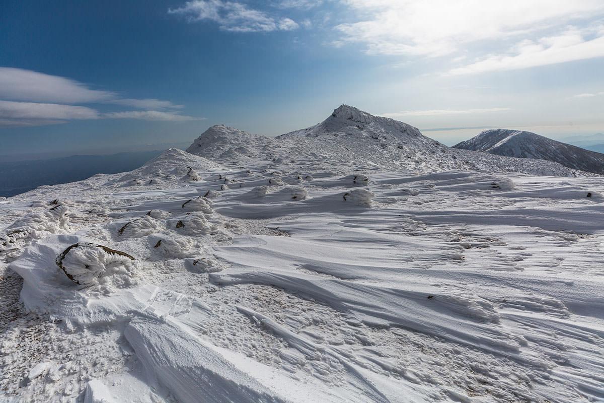 【安達太良山】登山百景-山頂付近へ戻る