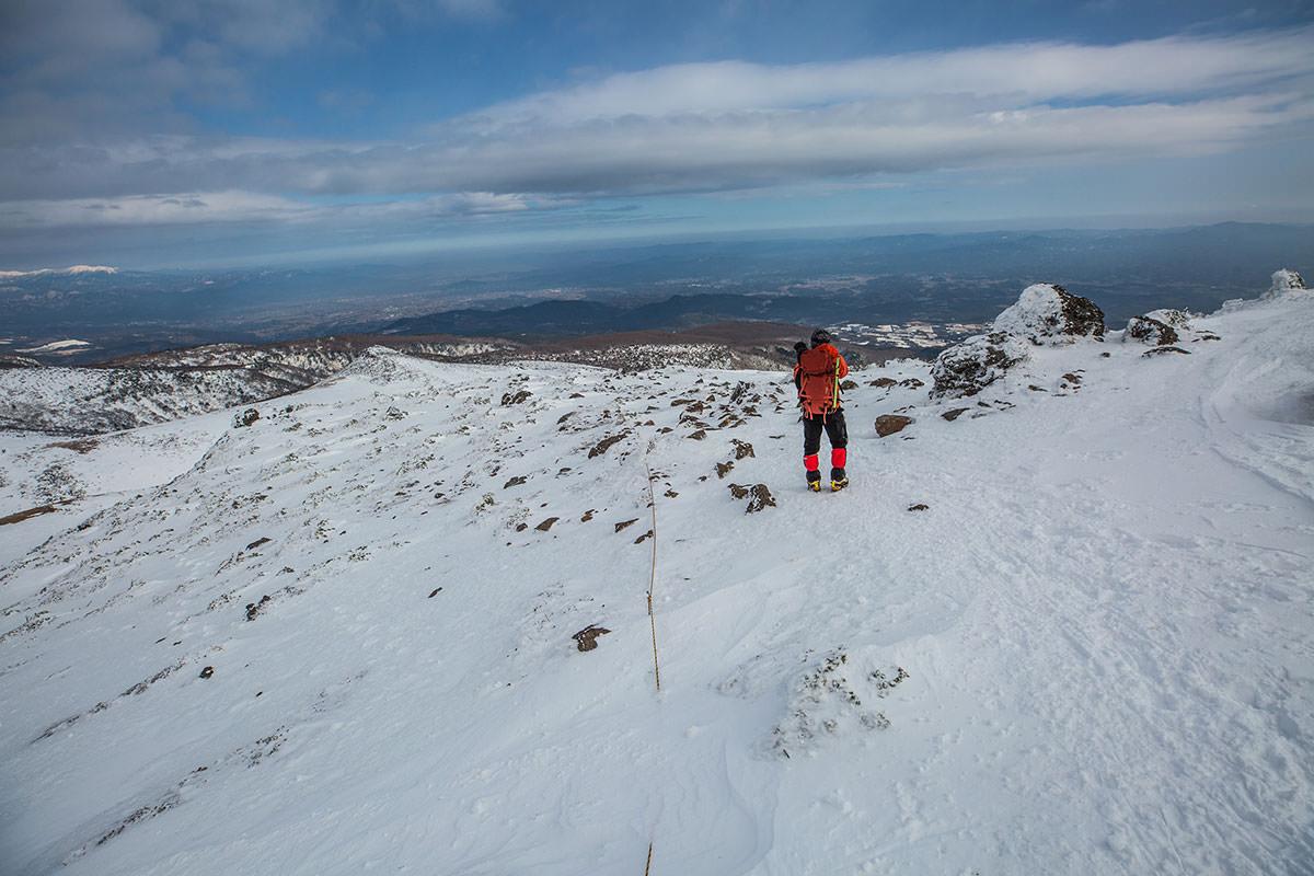 【安達太良山】登山百景-薬師岳の方へ下りる