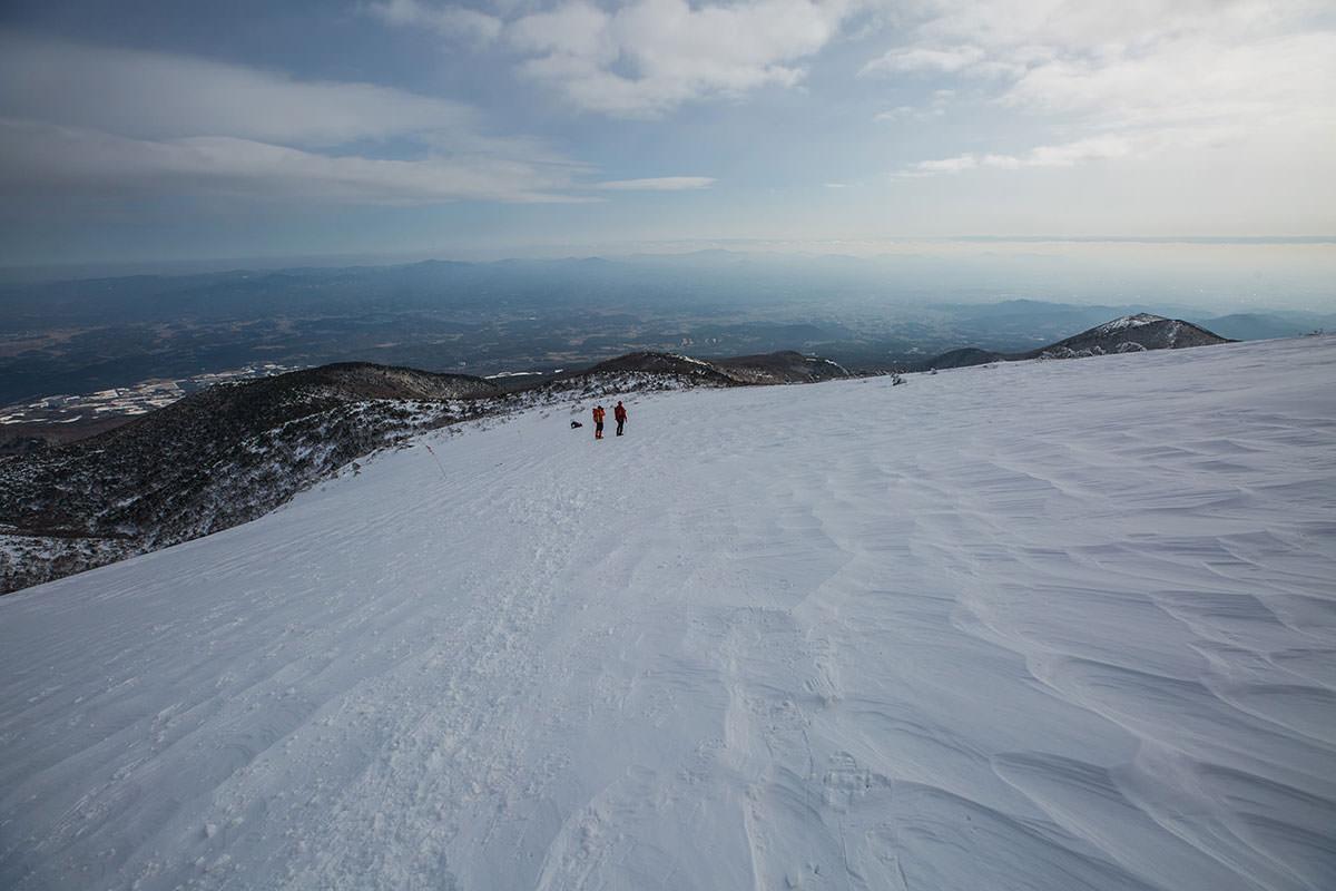 【安達太良山】登山百景-広い斜面