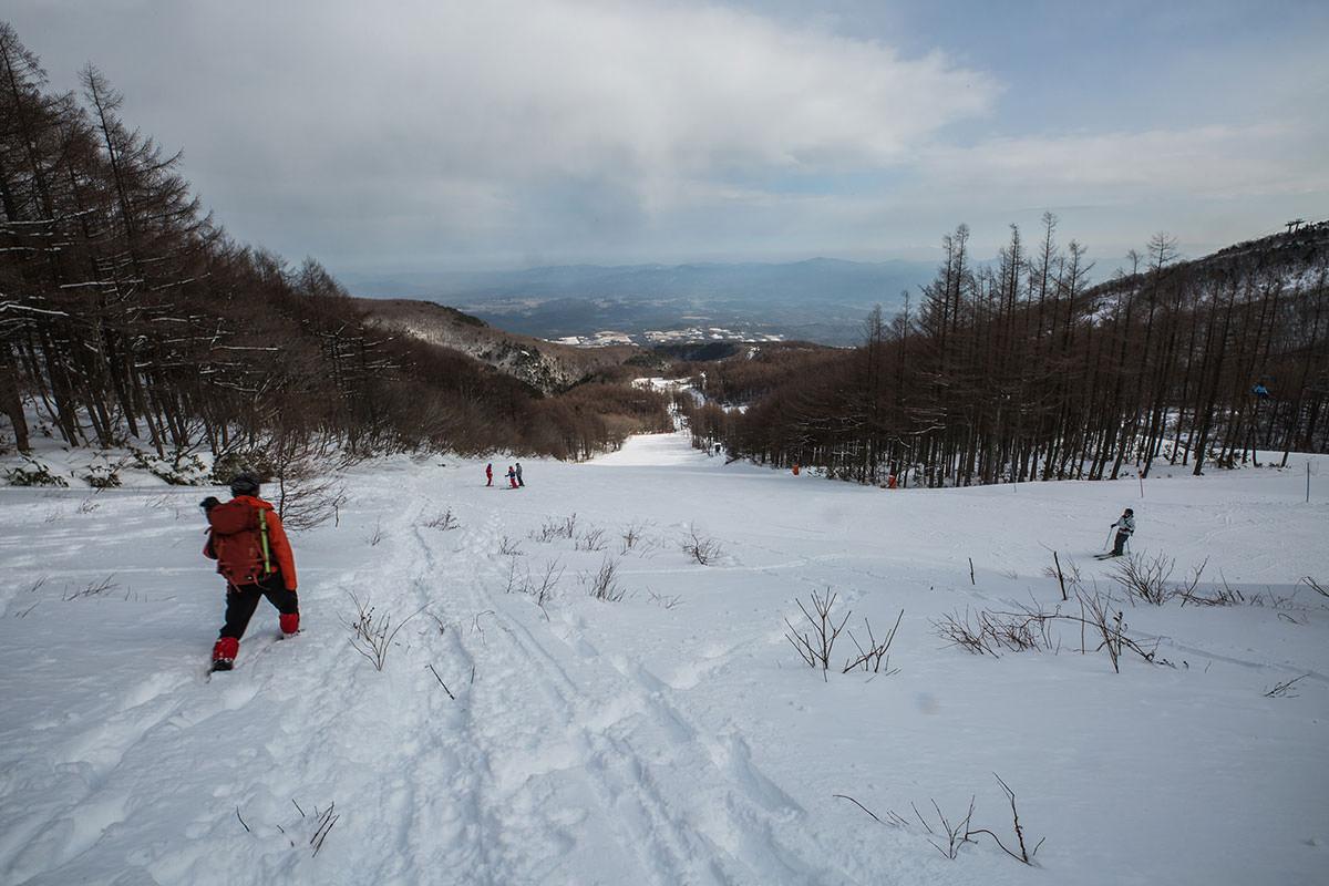 【安達太良山】登山百景-ゲレンデへ下りる