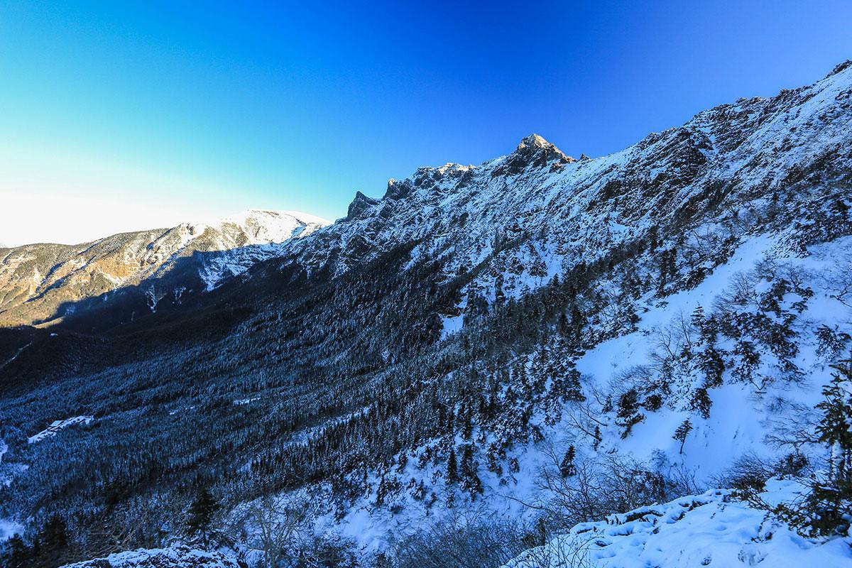 【赤岳】登山百景-横岳と硫黄岳