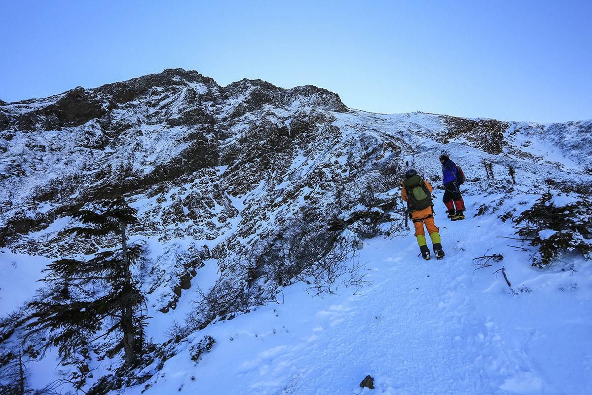 【赤岳】登山百景-赤岳の真下