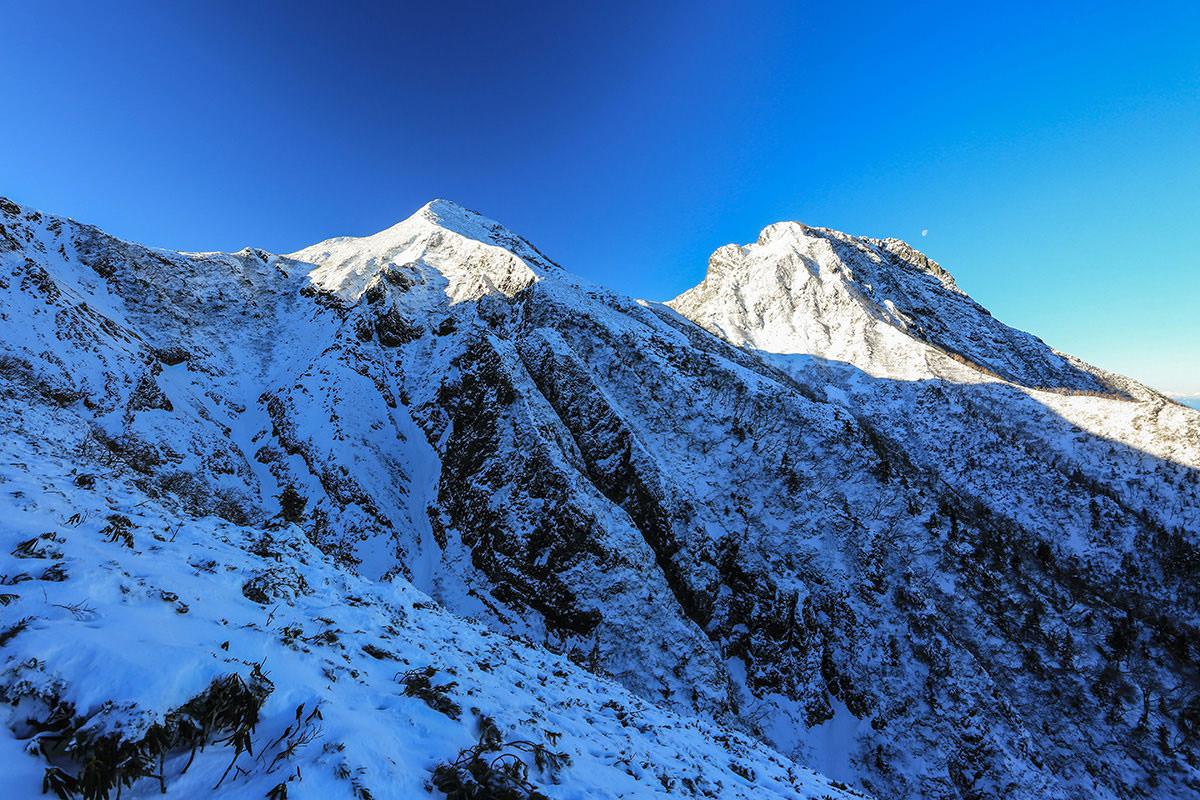 【赤岳】登山百景-中岳と阿弥陀岳