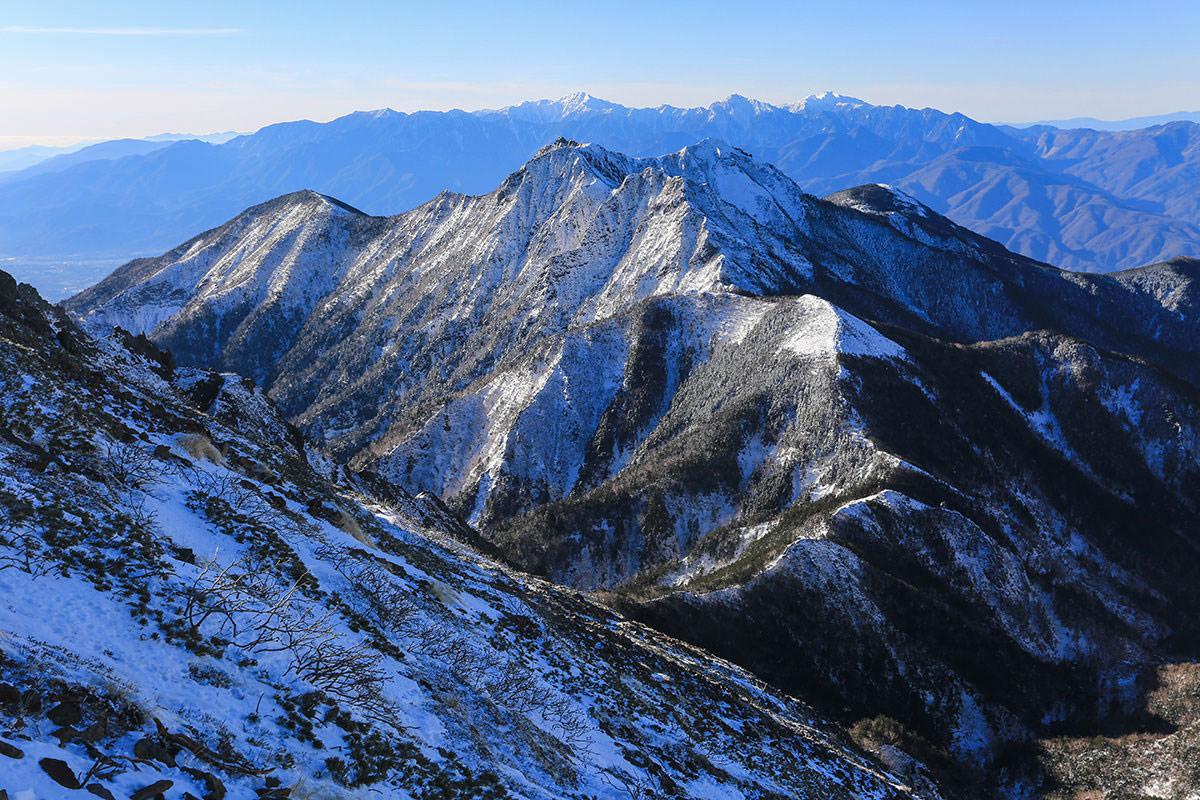 【赤岳】登山百景-権現岳