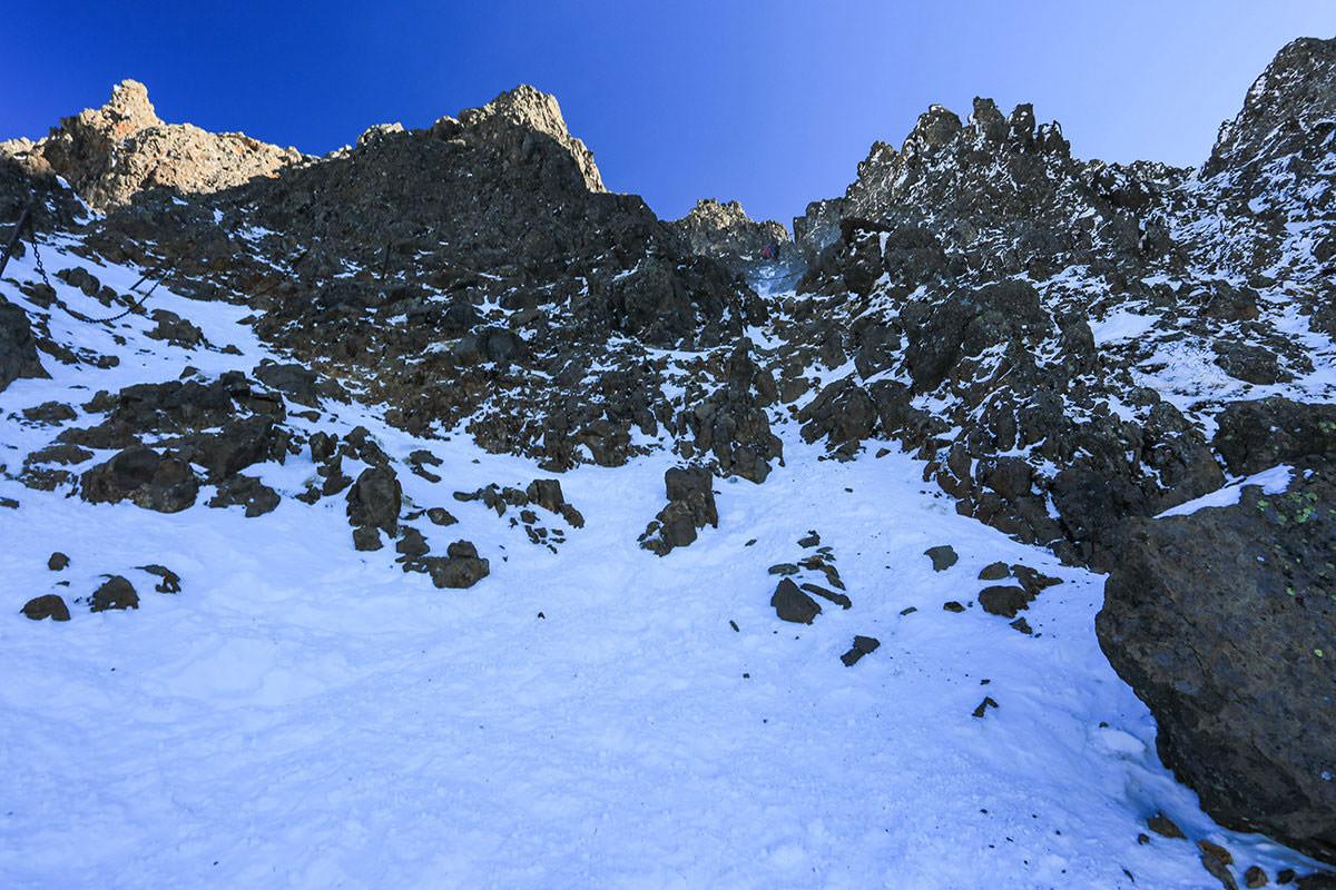 【赤岳】登山百景-岩場を登る