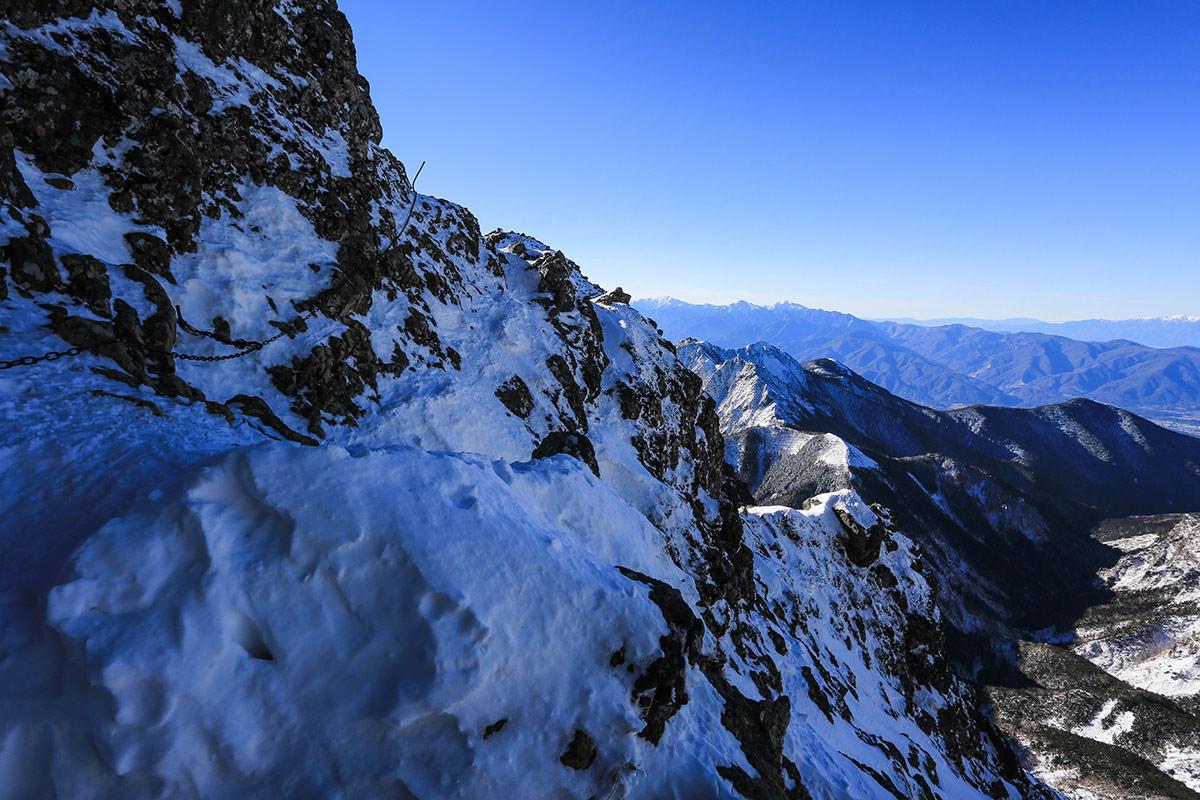 【赤岳】登山百景-キレットの方