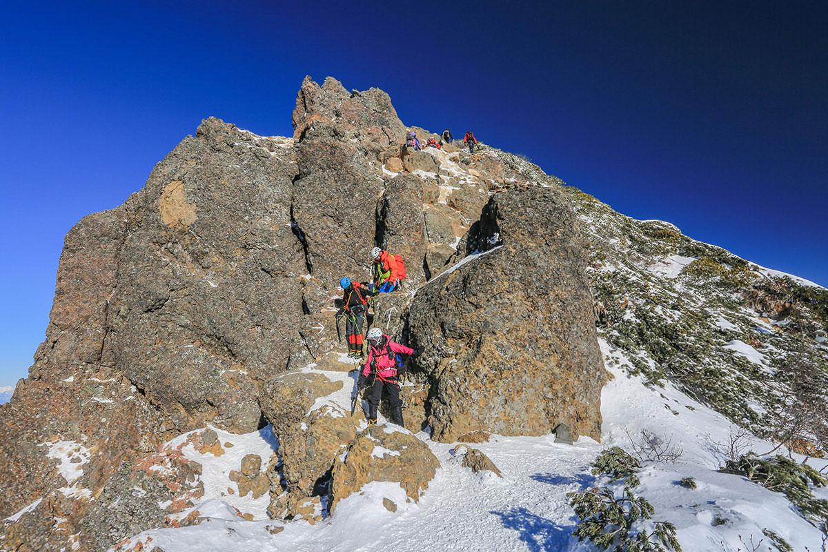 【赤岳】登山百景-ココを登れば赤岳山頂