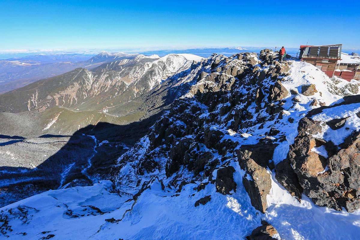 【赤岳】登山百景-赤岳北峰は向こう