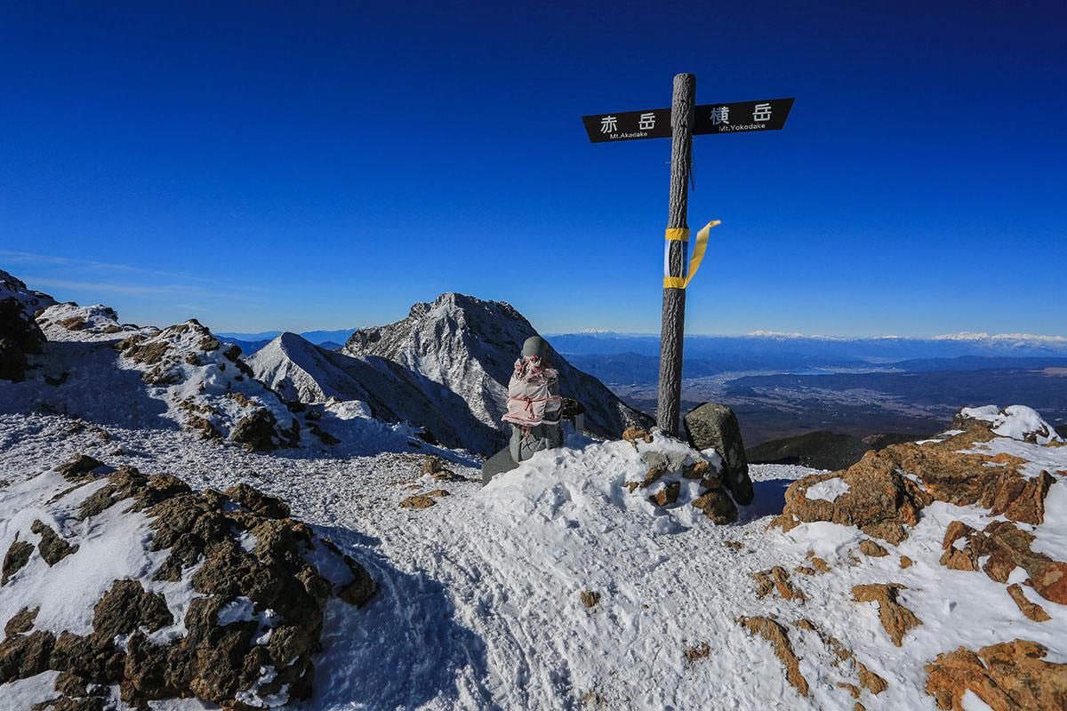 【赤岳】登山百景-ここから下りる