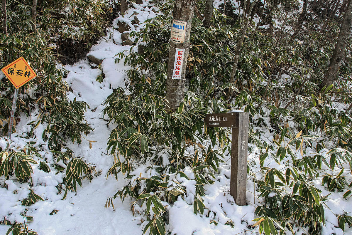 【赤城山】登山百景-黒檜山登山口