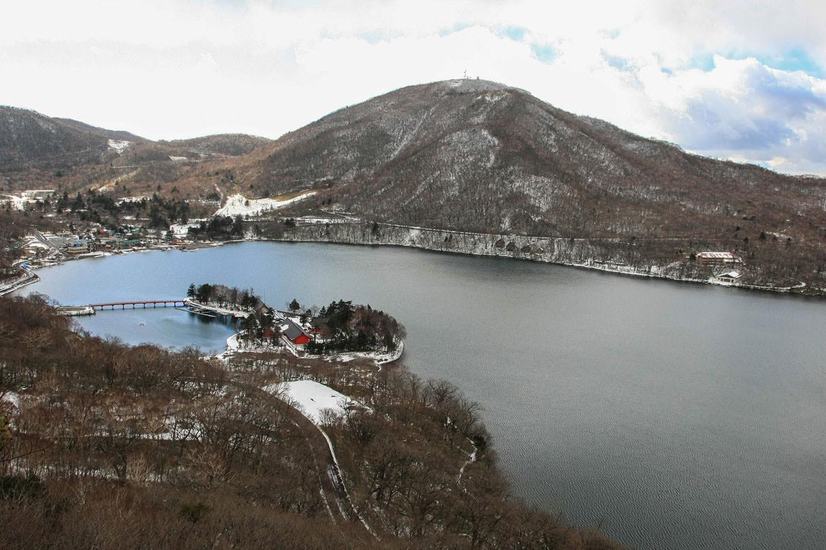 【赤城山】登山百景-大沼を見下ろす