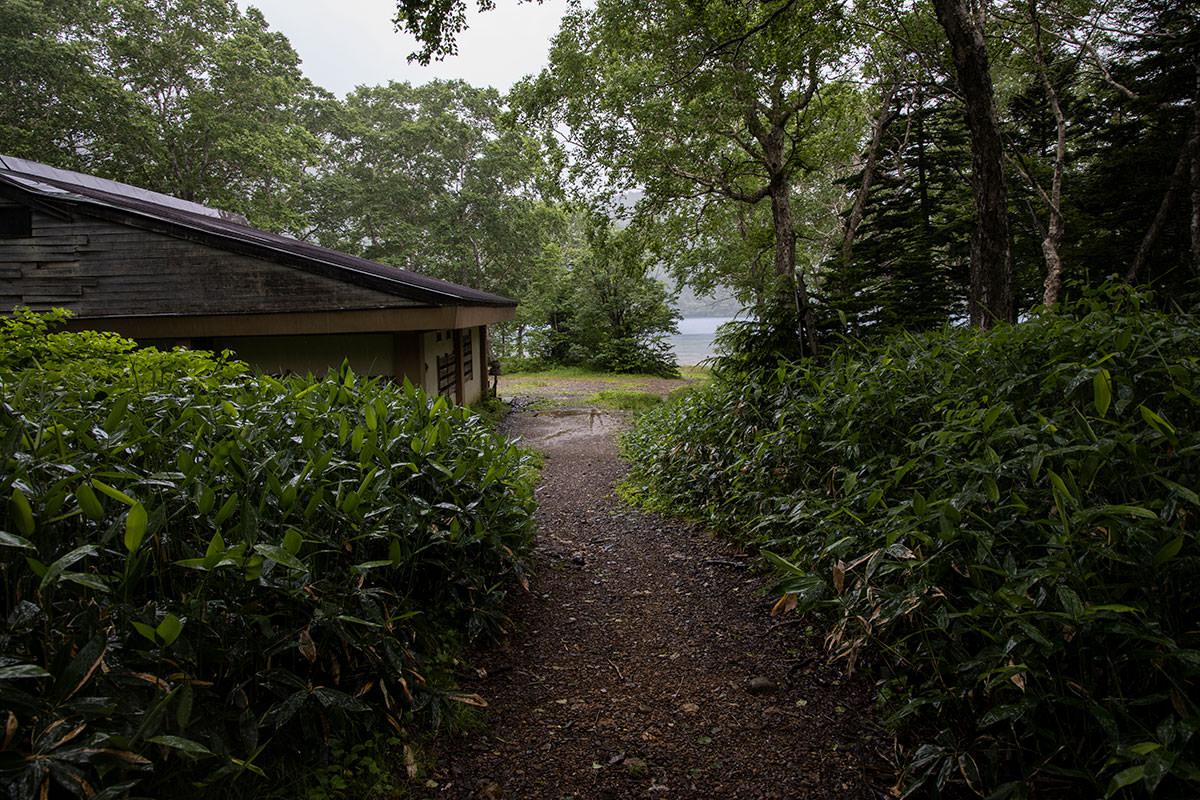 志賀高原赤石山-帰りは大沼池の畔へ