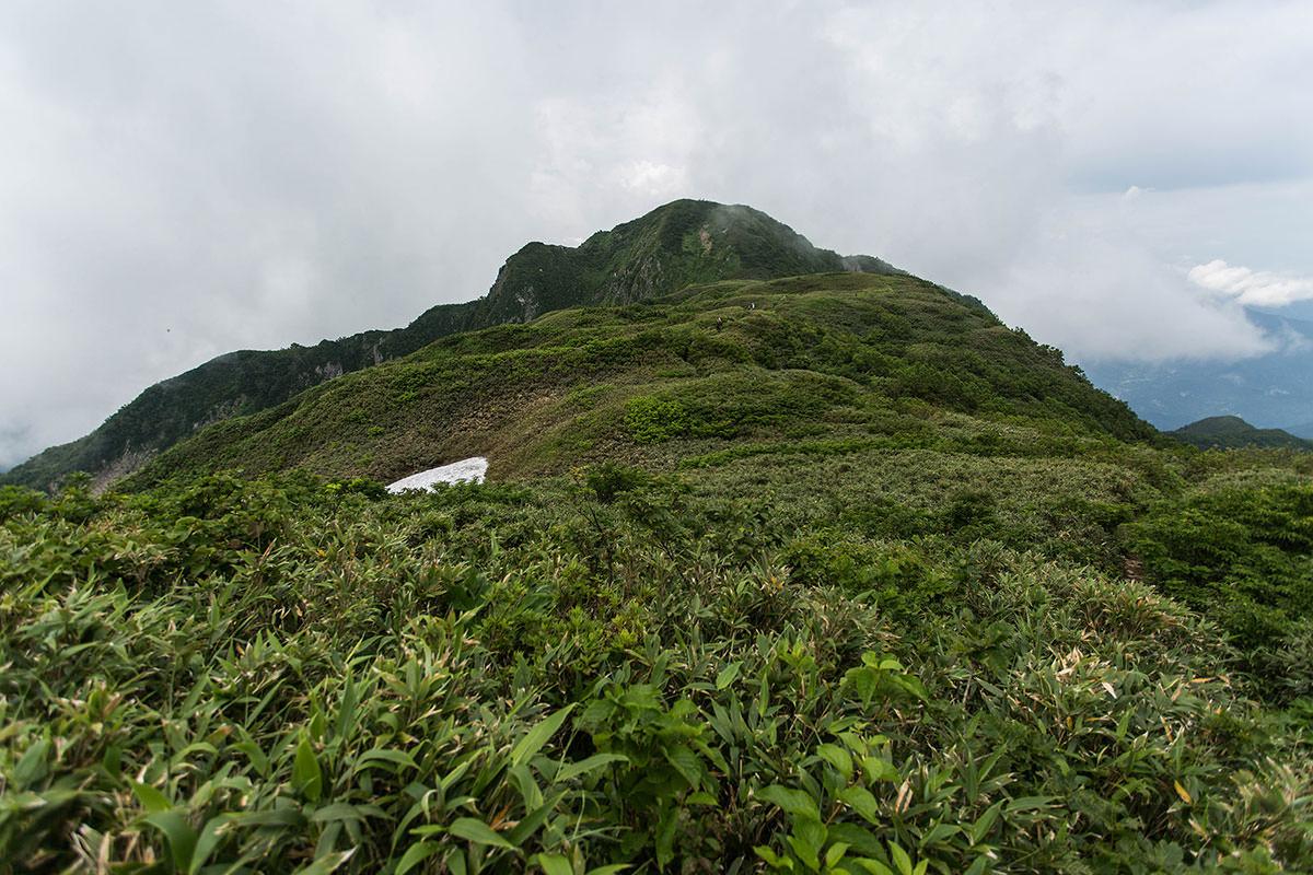 【雨飾山】登山百景-笹平