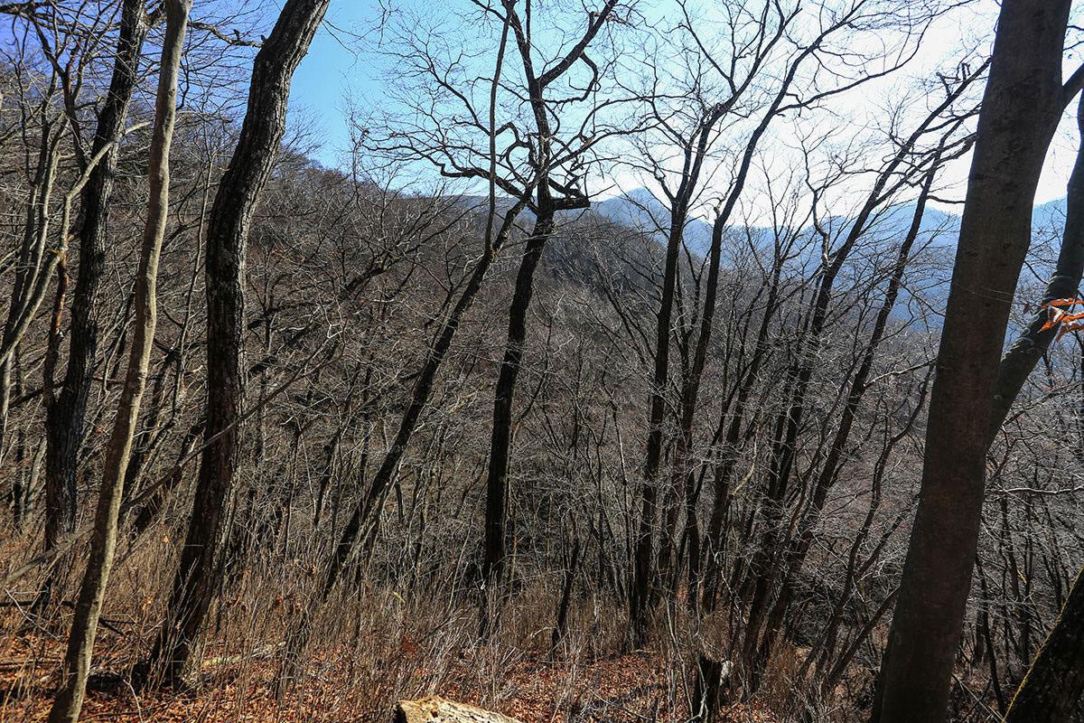 【荒船山】登山百景-向こうに経塚山