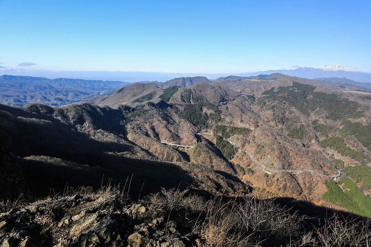 【荒船山】登山百景-展望台からの眺め