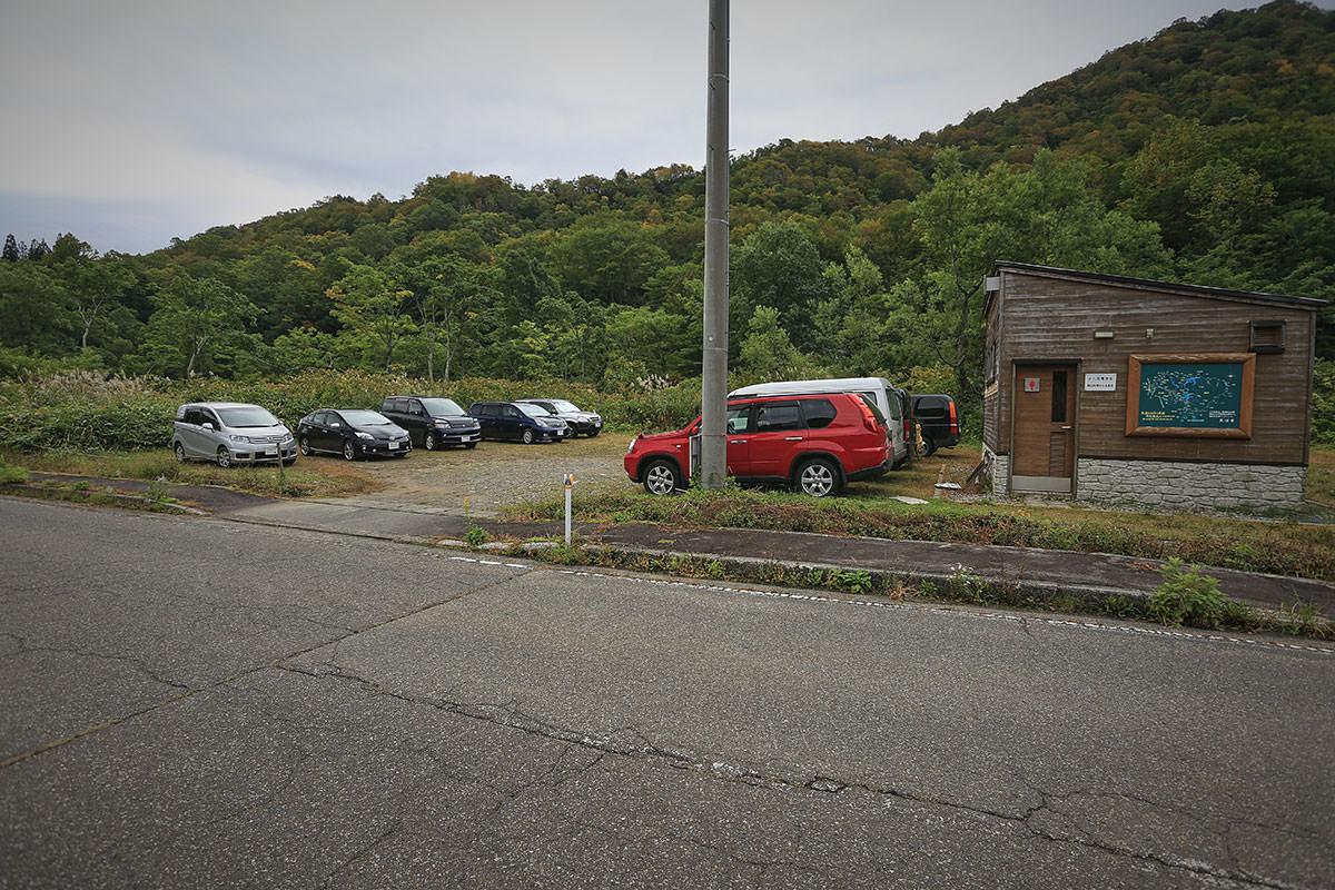 【荒沢岳】登山百景-駐車場