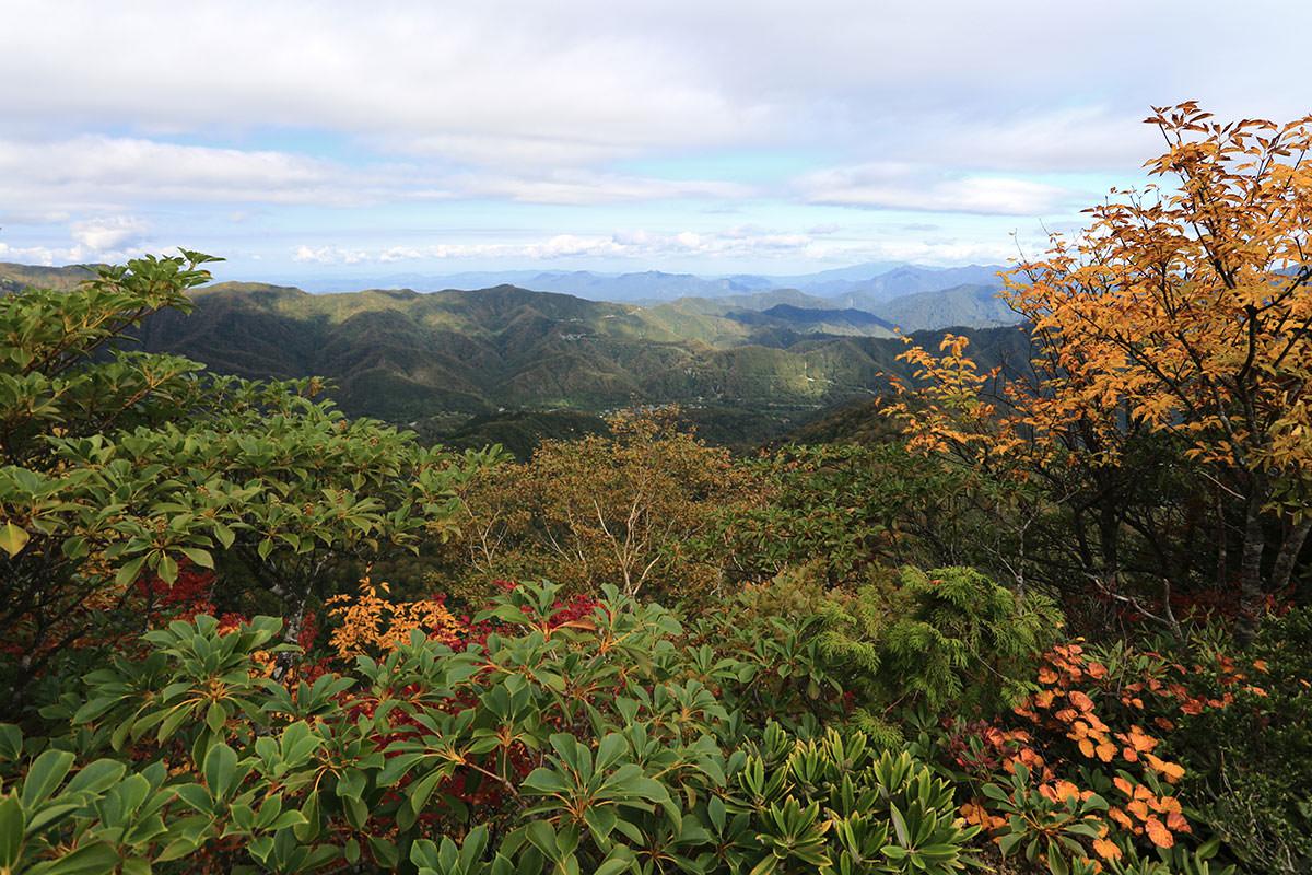 【荒沢岳】登山百景-登山口のあたりが見える