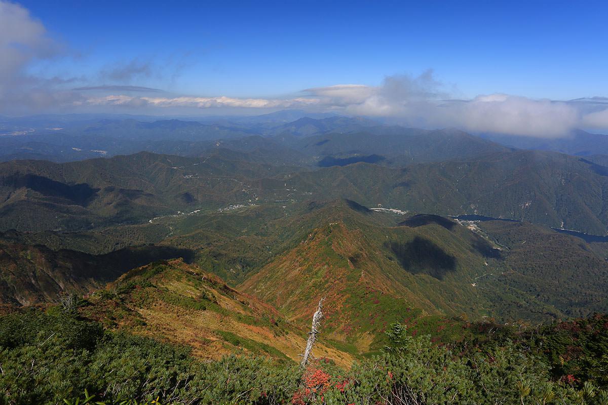 【荒沢岳】登山百景-銀山平方面