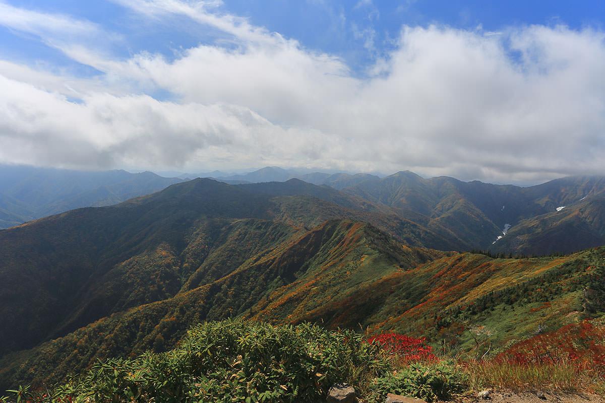 【荒沢岳】登山百景-南側