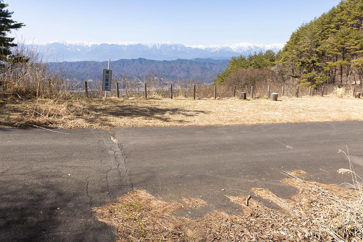 登山口からは北アルプスへの眺望が良かった