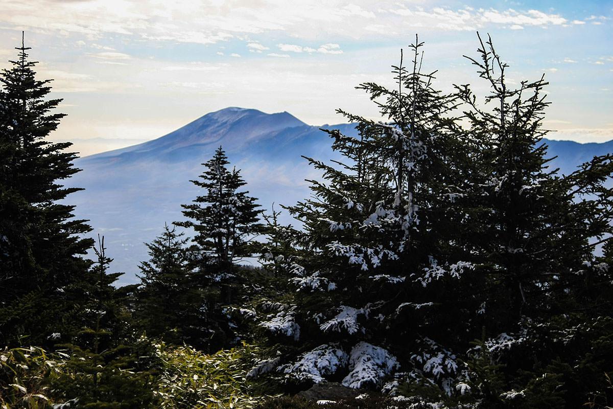 【四阿山】登山百景-浅間山!