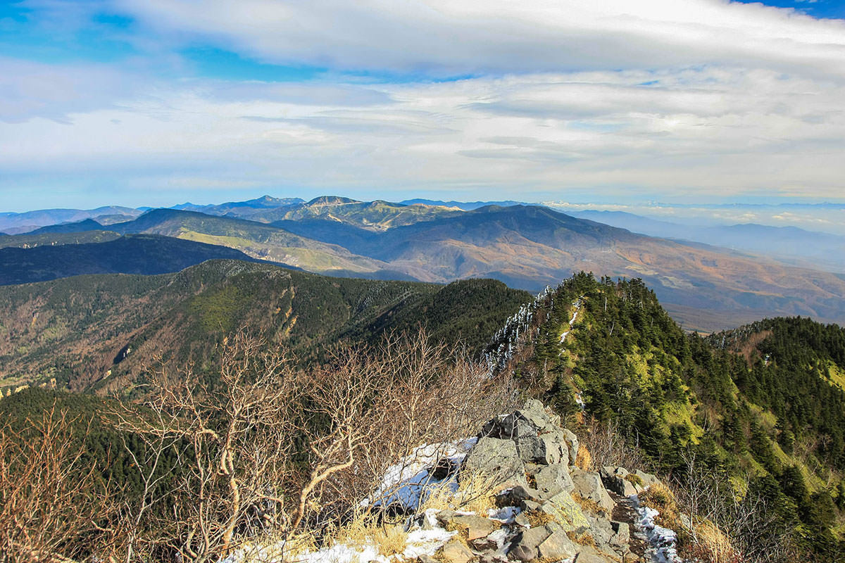 【四阿山】登山百景-北側