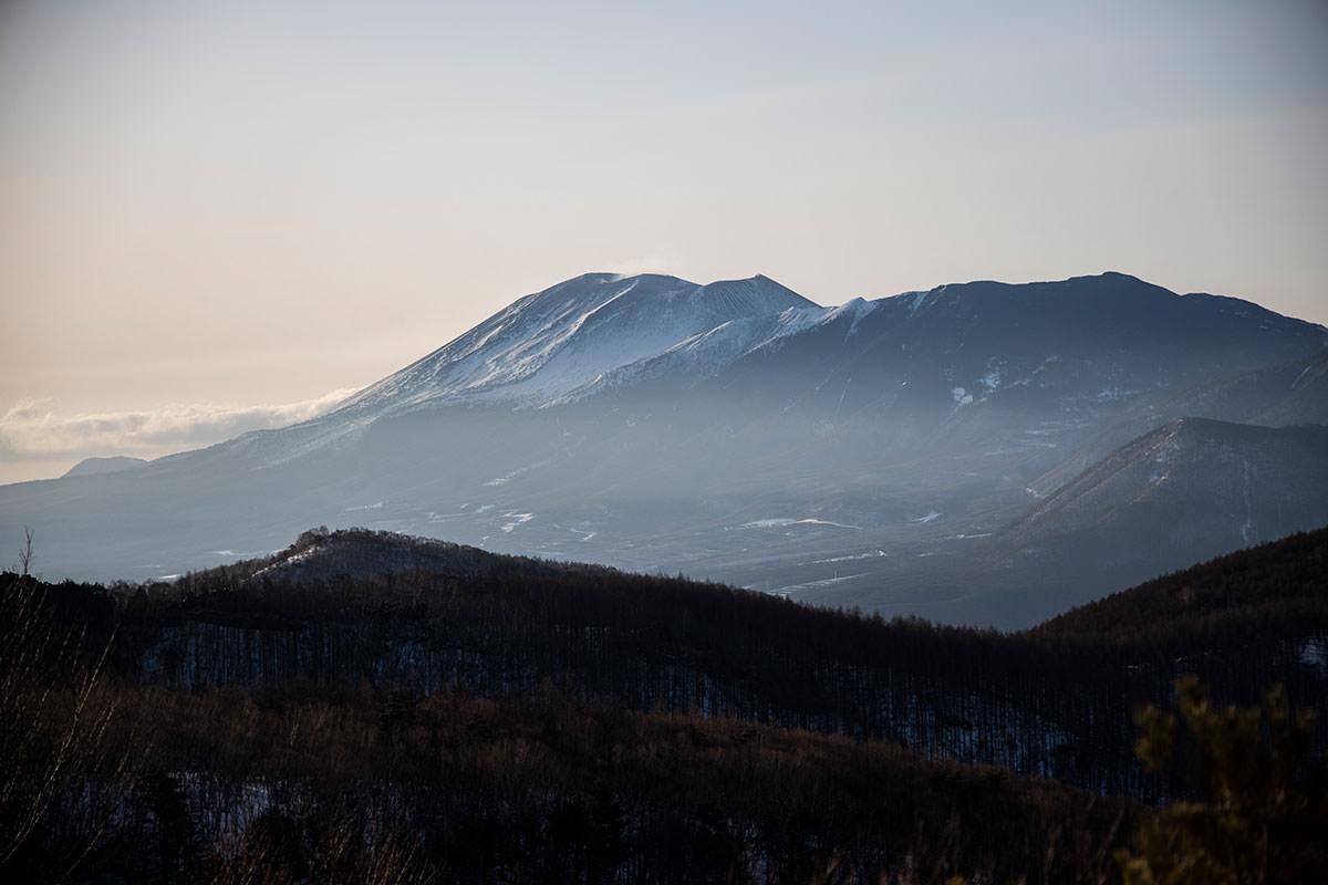 浅間山がかっこいい