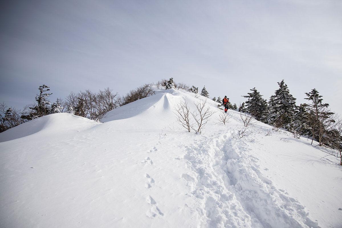 山頂への最後は急登