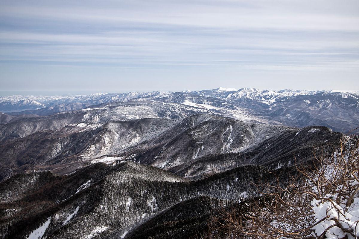 北には志賀高原