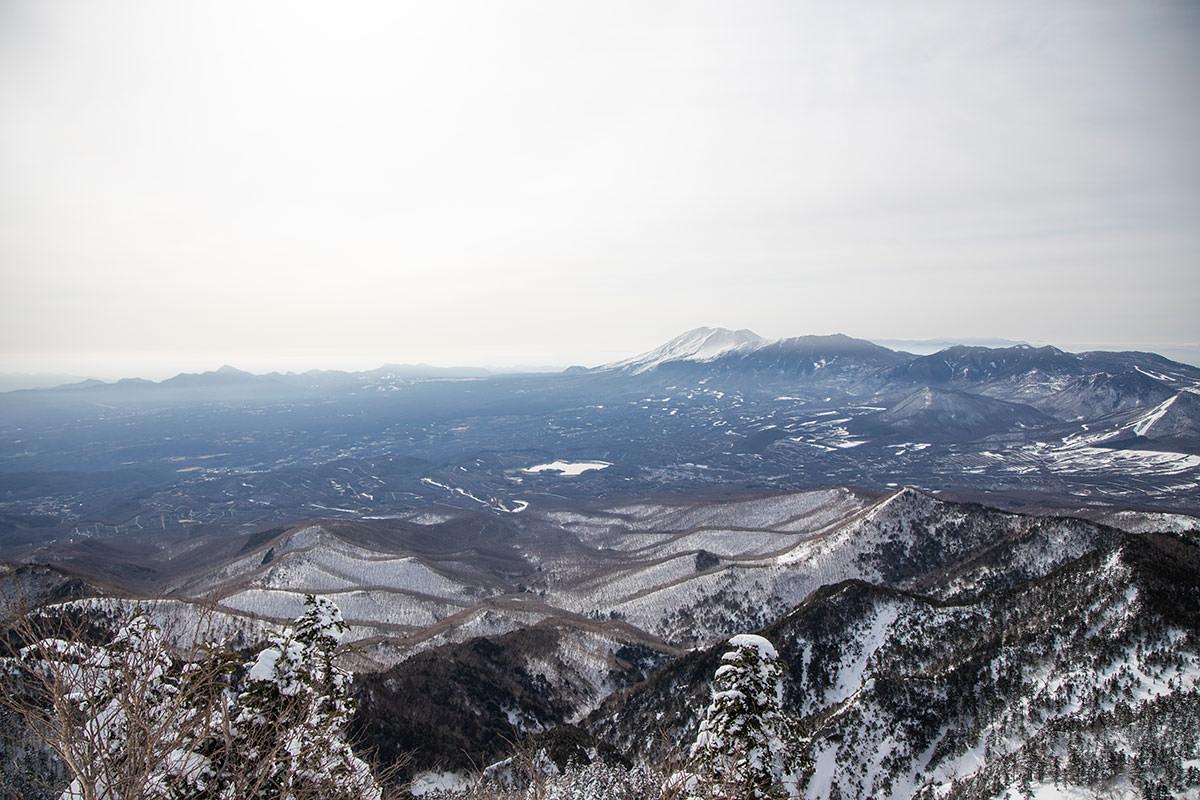 浅間山と嬬恋村