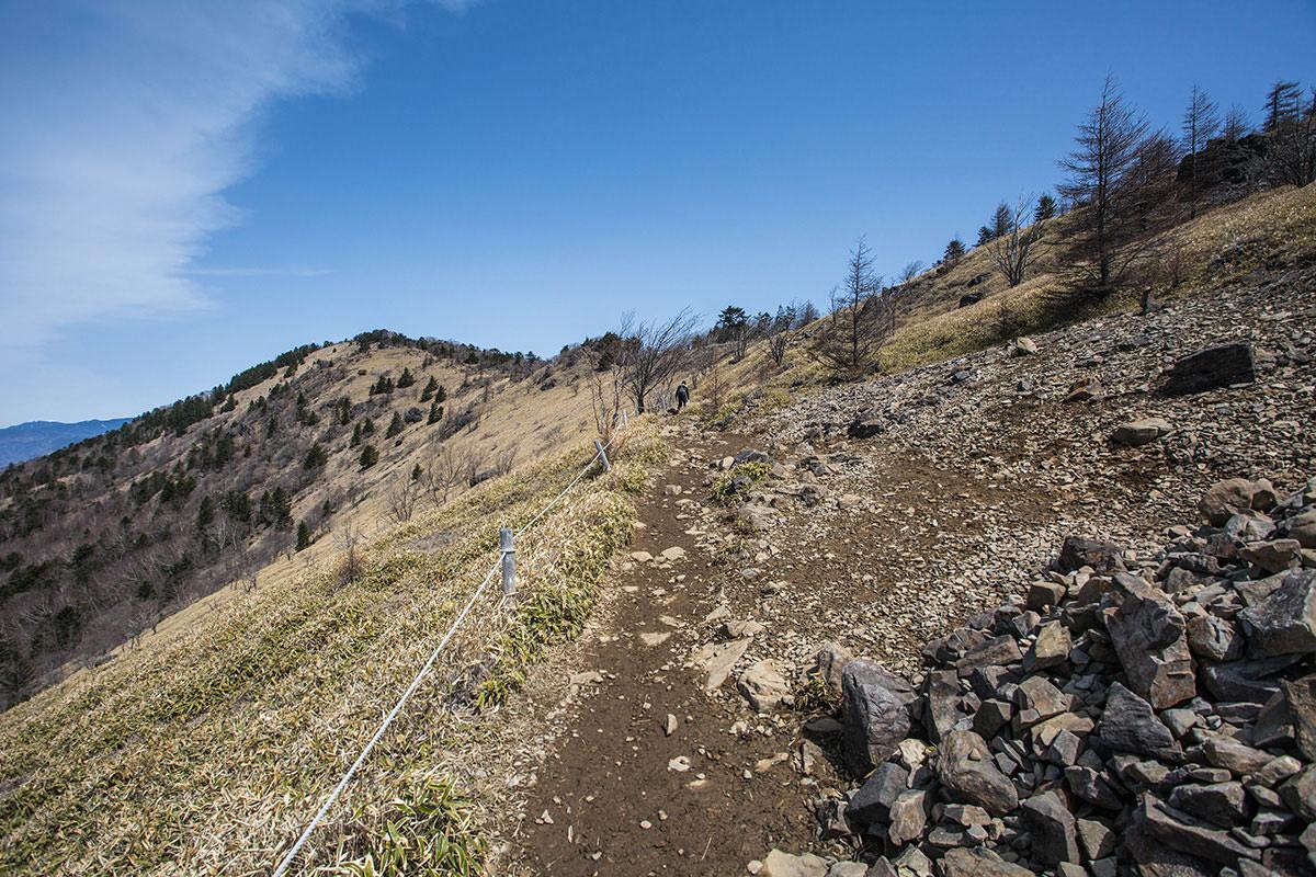 【大菩薩嶺 丸川峠分岐】登山百景-稜線が気持ち良い
