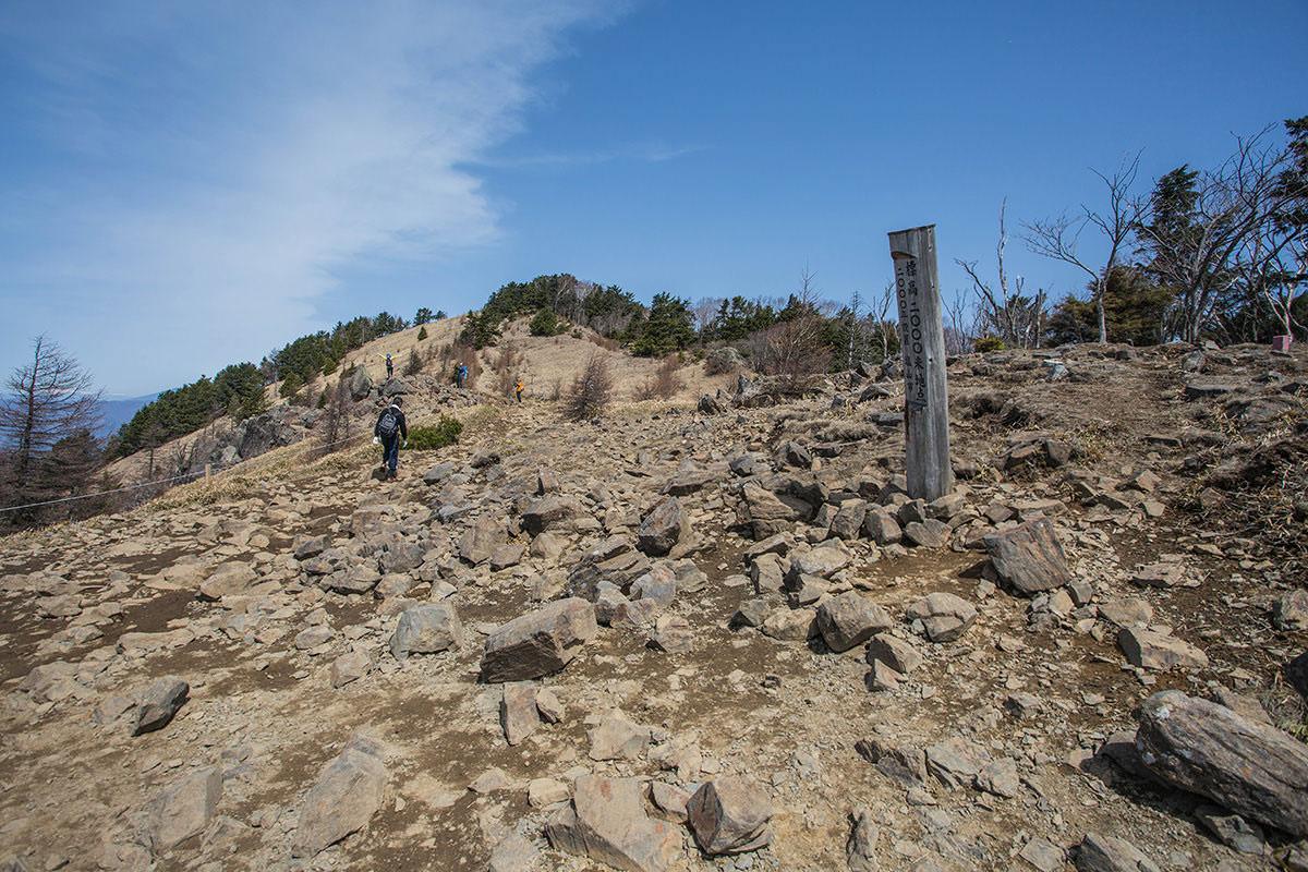 【大菩薩嶺 丸川峠分岐】登山百景-2000mを越えた地点