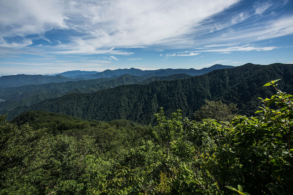 【越後駒ヶ岳】登山百景-振り返る